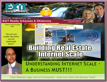EXIT Realty AR & OK Presentation on Internet Scale