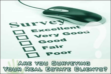 Are you Surveying your Real Estate Clients?