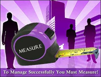To Manage Successfully you Must Measure!