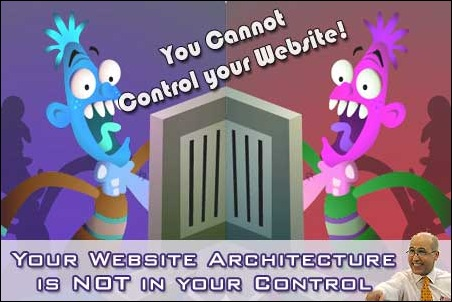 Your Real Estate Website Architecture in NOT within your Control