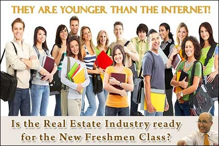 Is the Real Estate Industry ready for the new College Freshmen Class?