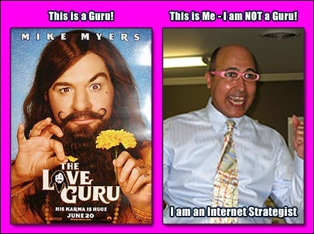 I am not a Guru - I am an Internet Strategist