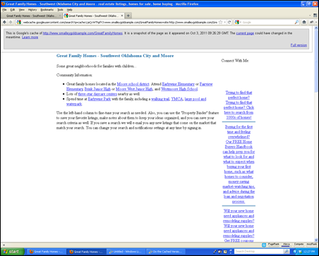 Cached Page
